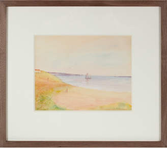"""Serena & Lily """"Dreamy Coastal Scene with Boat"""" by Duncan Davidson"""