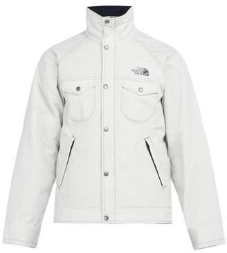 Junya Watanabe X The North Face Corduroy Collar Padded Jacket - Mens - Grey
