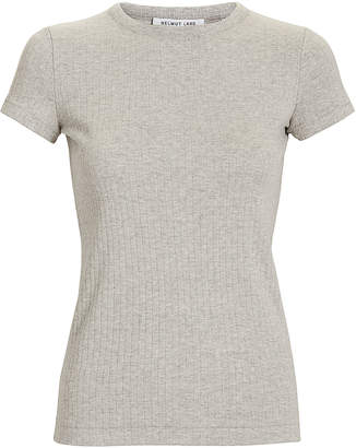 Helmut Lang Grey Wide Rib T-Shirt