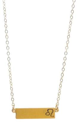 Dogeared 14K Gold Vermeil Leo Zodiac Necklace