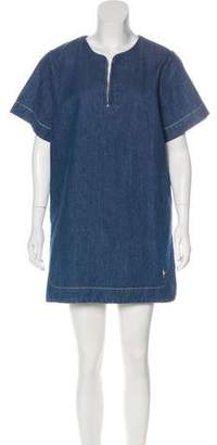 MiH Jeans Denim Shift Dress