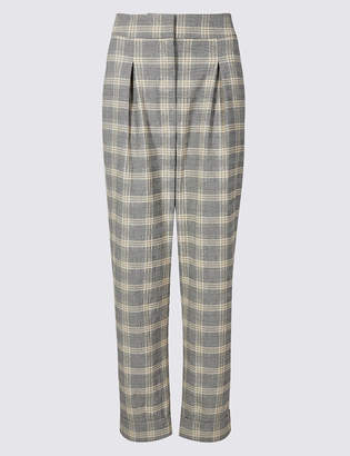 Limited Edition Checked Wide Leg Trousers