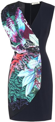Roberto Cavalli Stretch-crepe minidress