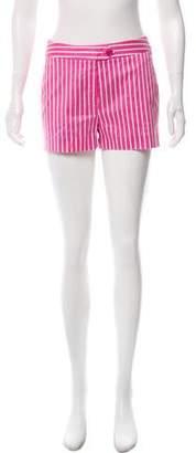 Christian Dior Striped Mini Shorts