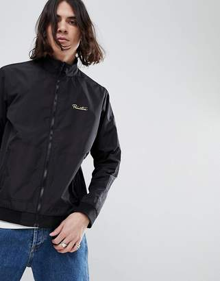 Primitive Relay Track Jacket In Black
