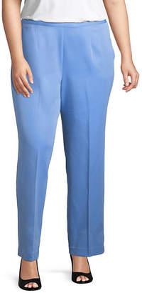 Alfred Dunner Bonita Springs Classic Pant- Plus