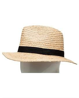 The Two Mrs Grenvilles Raffia Fedora
