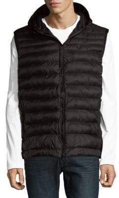 Strellson Puffer Hooded Vest