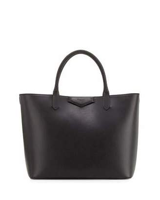 Givenchy Antigona Whipstitch-Handle Medium Tote Bag, Black $1,995 thestylecure.com