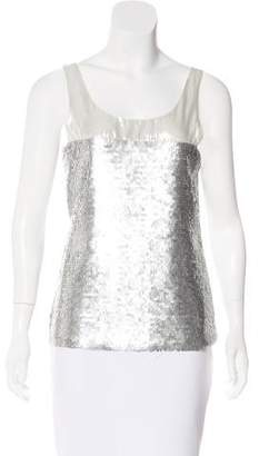 Mark & James by Badgley Mischka by Badgley Mischka Sequined Sleeveless Top
