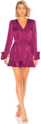 Donna Mizani Eliza Wrap Dress