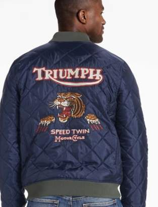 Lucky Brand TRIUMPH QUILTED BOMBER JACKET