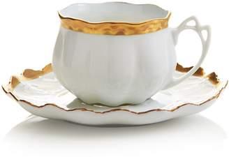 Anna Weatherley Anna's Golden Patina Teacup & Saucer