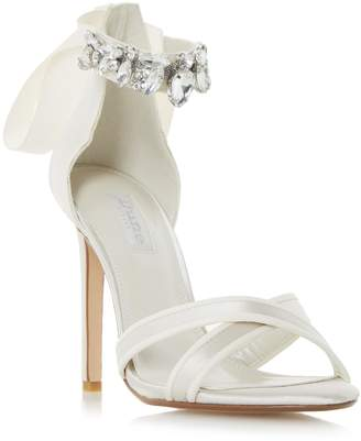 Dune LADIES MORGEN - Jewel Ankle Strap High Heel Sandal