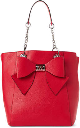 Betsey Johnson Red Bow Bag-In-Bag Tote