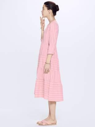 Xirena XIRENA Beckett Striped Cotton Layna Dress - Opal