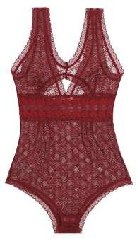 Stella McCartney Cutout Lace Bodysuit