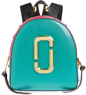 Marc Jacobs Pack Shot Buttons Leather Backpack