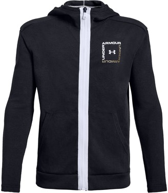 Under Armour Boys' UA Unstoppable Double Knit Full Zip
