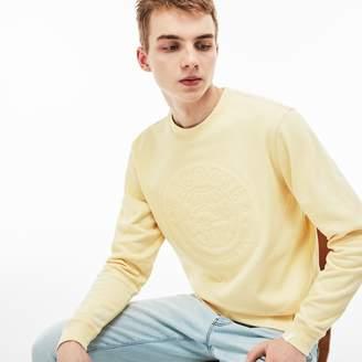 Lacoste (ラコステ) - ユニセックス バッジデザイン スウェットシャツ