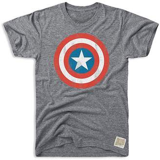 Original Retro Brand Boys' Captain America Tee - Big Kid