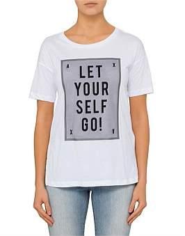 Armani Exchange Let Yourself Logo Tee