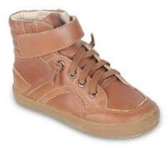 Old Soles Toddler's& Kid's High-Top Leather Shoes