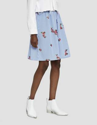 Farrow Wanda Floral Embroidered Skirt