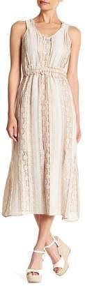 Endless Rose Sleeveless Midi Lace Dress