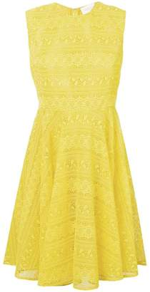 Giambattista Valli lace skater dress