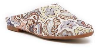 BC Footwear Polar Brocade Faux Fur Lined Mule