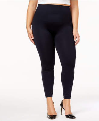 Spanx Women Plus Size Look At Me Now Camo Tummy Control Leggings