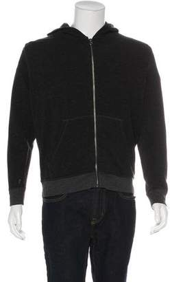 ATM Anthony Thomas Melillo Knitted Zip Hoodie