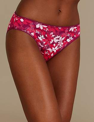 Marks and Spencer 5 Pack Cotton Rich High Leg Knickers