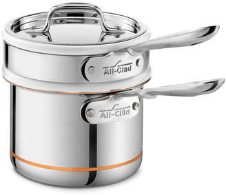 All-Clad Copper Core 1.5-qt. Double Boiler with Lid