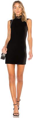 Amanda Uprichard Velvet Melange Dress