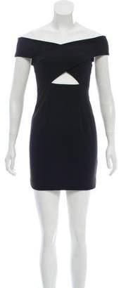 SOLACE London Sleeveless Mini Dress