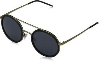 Emporio Armani Men's Mirrored EA2041-300287-50 Round Sunglasses