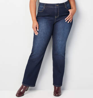 Avenue 1432 Bootcut Jean in Dark Wash