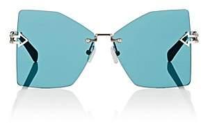 Karen Walker Women's Wanderlust Sunglasses - Silver