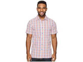 Royal Robbins Diablo Plaid Short Sleeve Men's Short Sleeve Button Up
