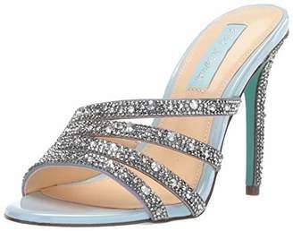 cd4f0d398c1 Betsey Johnson Blue Heeled Women s Sandals - ShopStyle