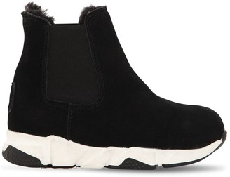 Colors of California SUEDE SLIP-ON BOOTS