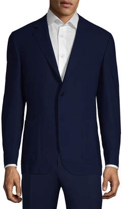 Canali Solid Wool Jacket