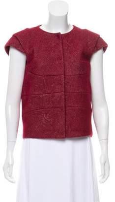 Bottega Veneta Wool & Cashmere-Blend Short Sleeve Jacket w/ Tags