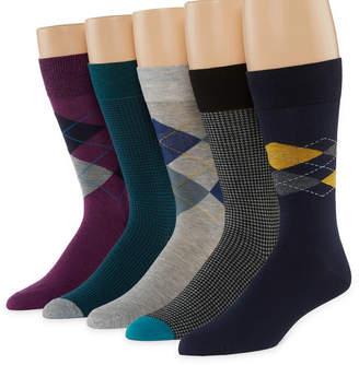 STAFFORD Stafford 5 Pair Crew Socks-Mens