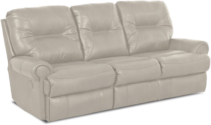 Jcpenney brinkley leather reclining motion sofa for Jcpenney leather sectional sofa