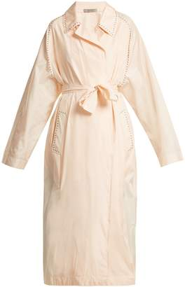 Bottega Veneta Studded silk trench coat