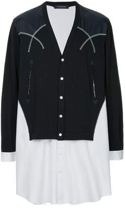 John Undercover V-neck button cardigan