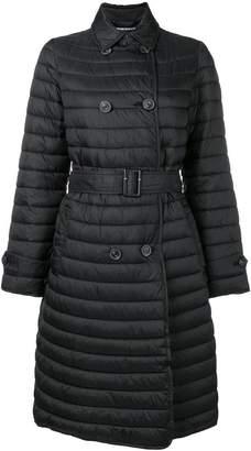Emporio Armani loose flared coat